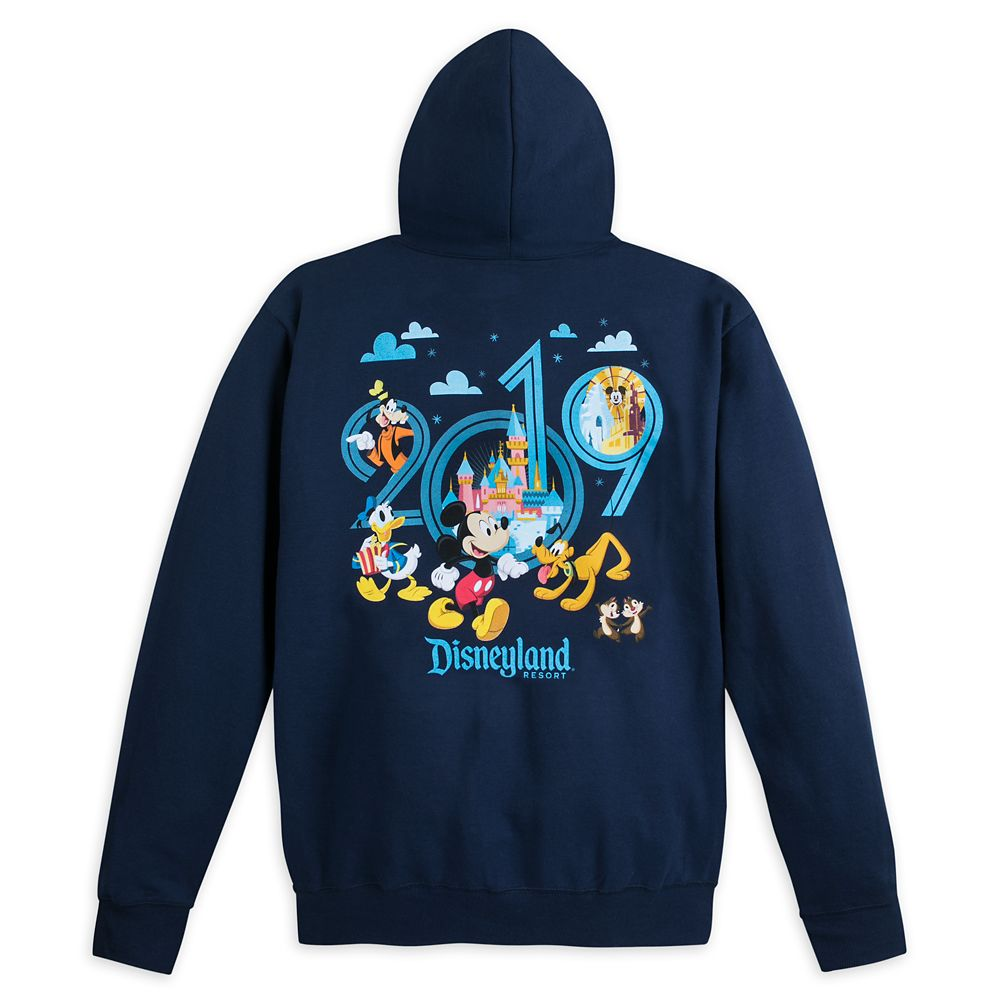 Mickey Mouse and Friends Hoodie for Adults – Disneyland 2019
