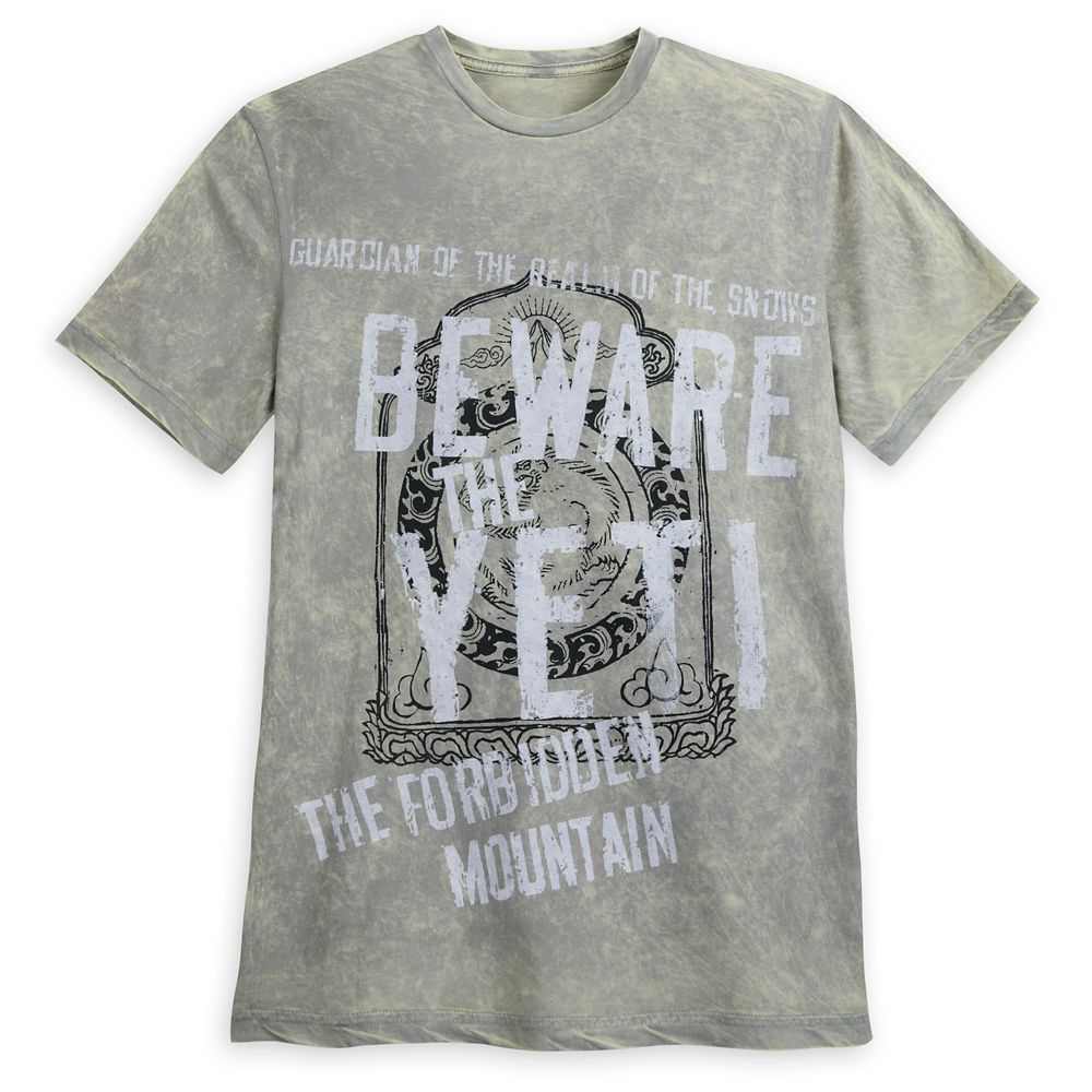 Yeti T-Shirt for Adults  Expedition Everest Official shopDisney