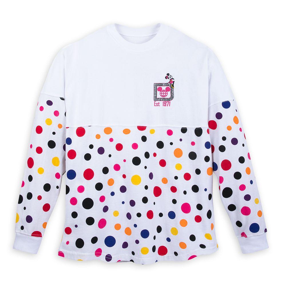 Minnie Mouse Polka Dot Spirit Jersey for Adults – Walt Disney World