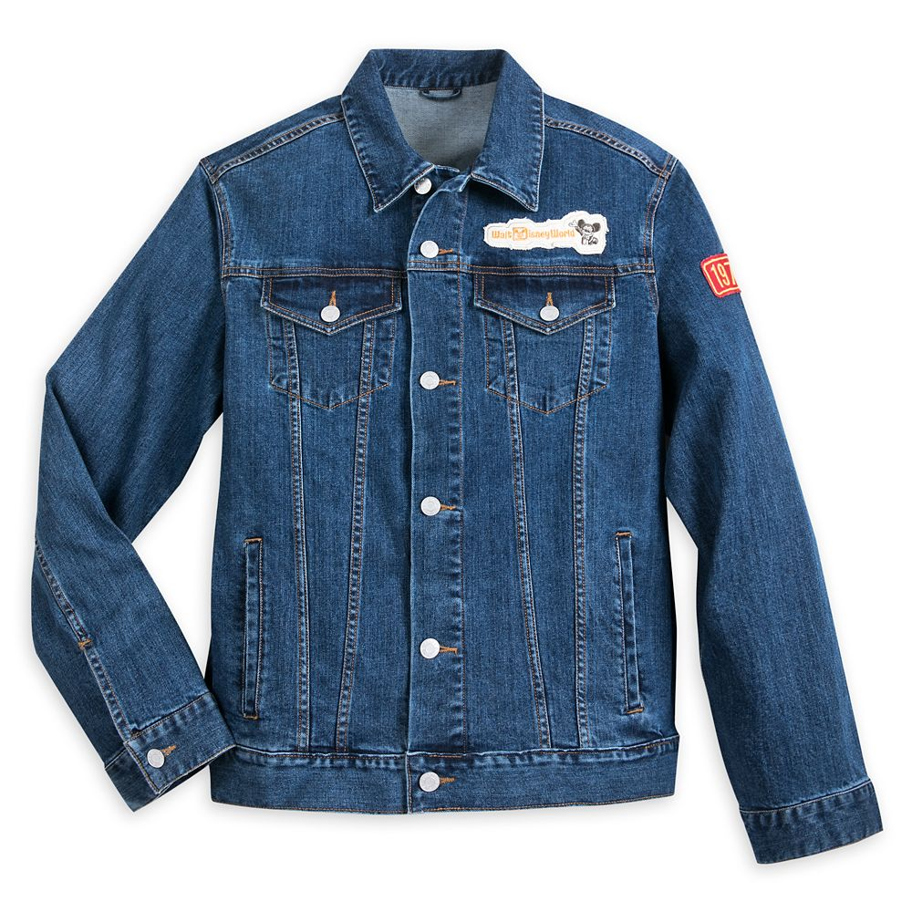 Mickey Mouse Denim Jacket for Adults – Walt Disney World