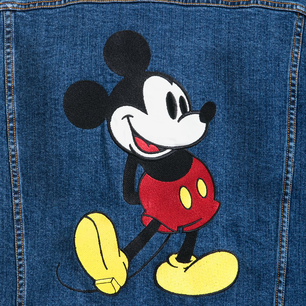 Mickey Mouse Denim Jacket for Adults – Disneyland