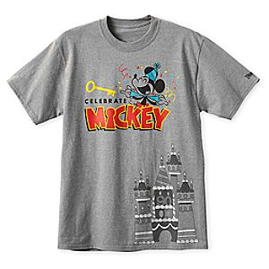 Mickey Mouse ''Celebrate Mickey'' T-Shirt for Men - Disneyland