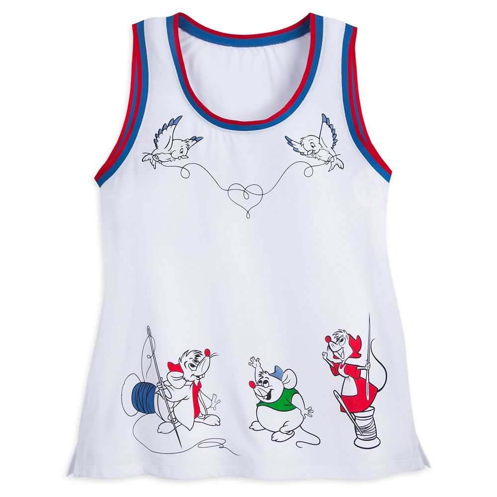 Cinderella Mice Tank Top for Women