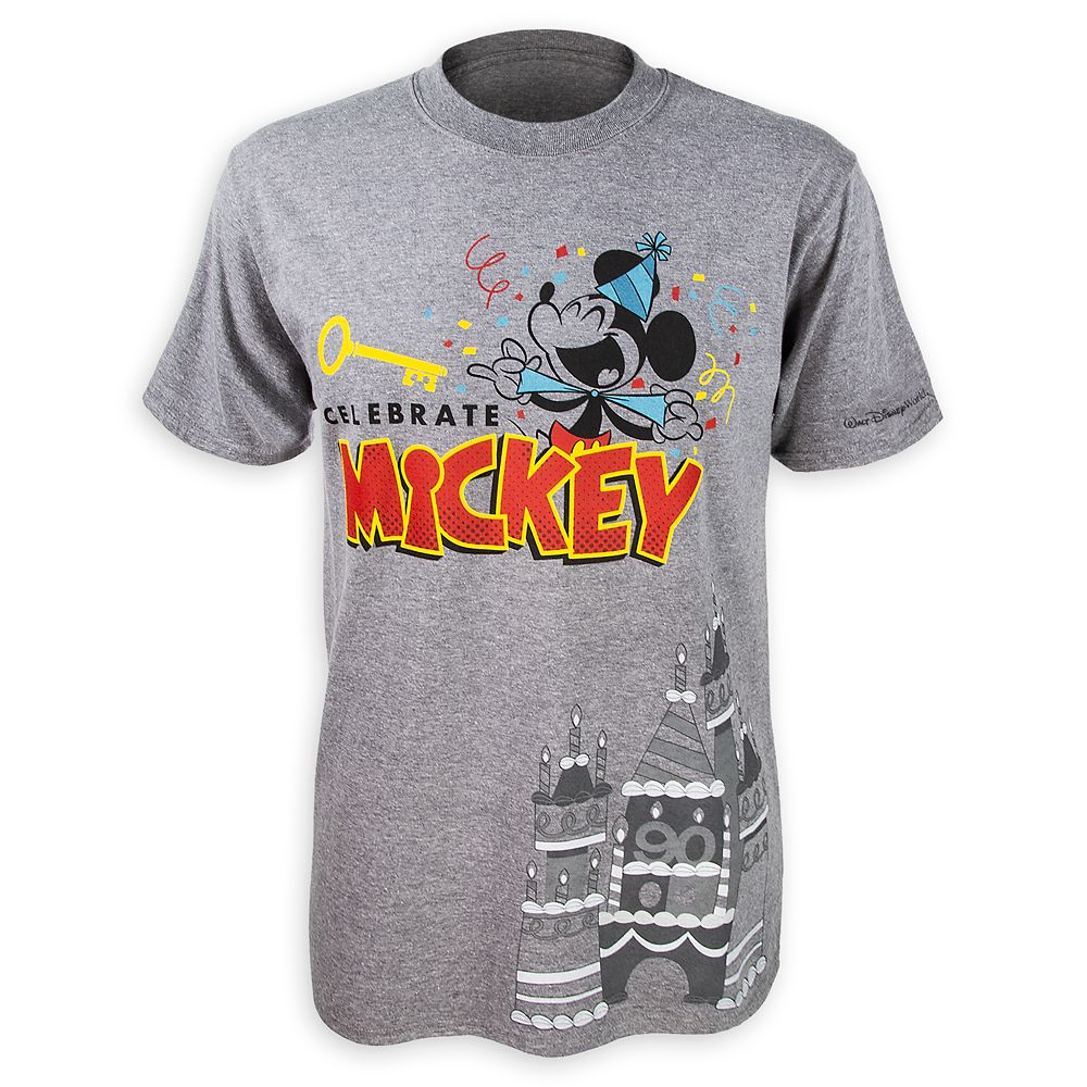 Mickey Mouse ''Celebrate'' T-Shirt for Men  Walt Disney World