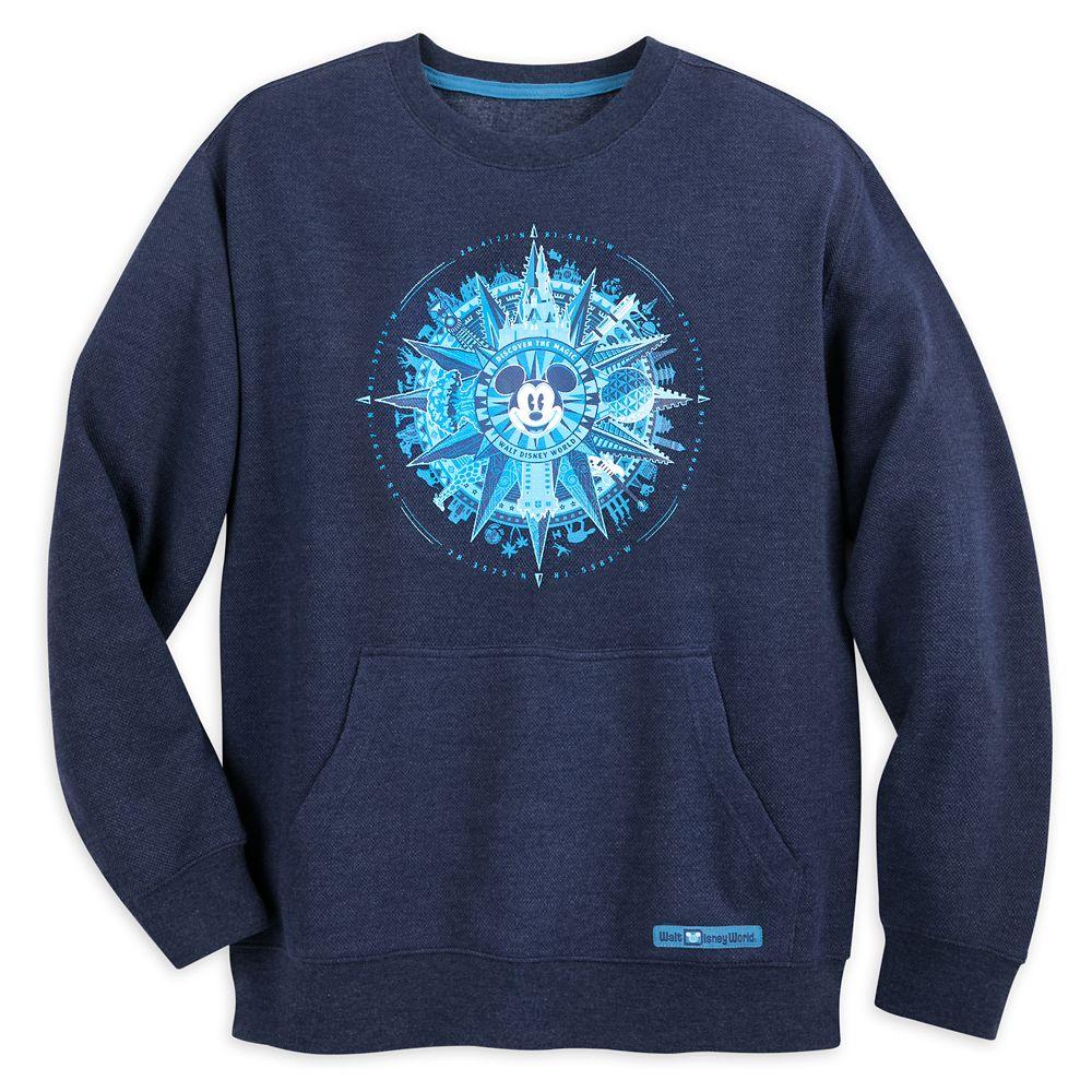 Mickey Mouse Compass Sweatshirt for Men – Walt Disney World