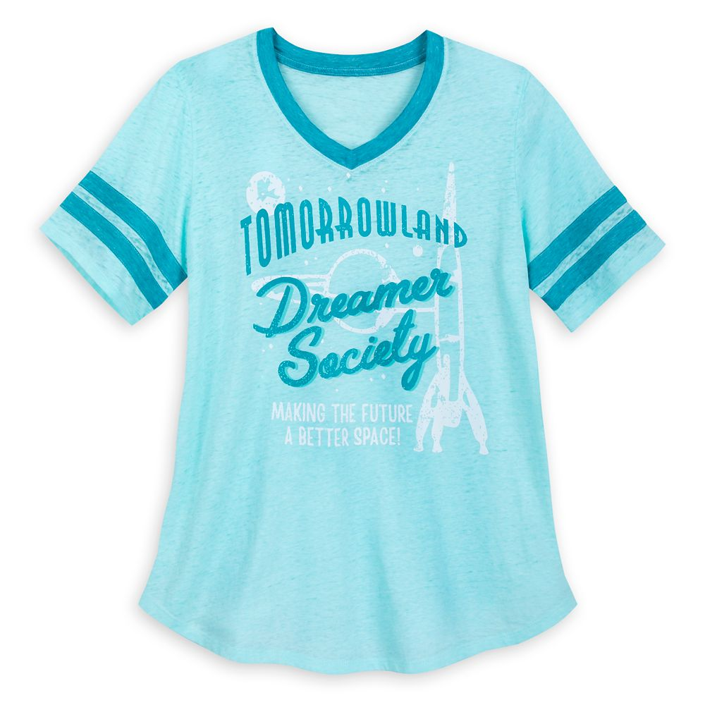 Tomorrowland T-Shirt for Women Official shopDisney