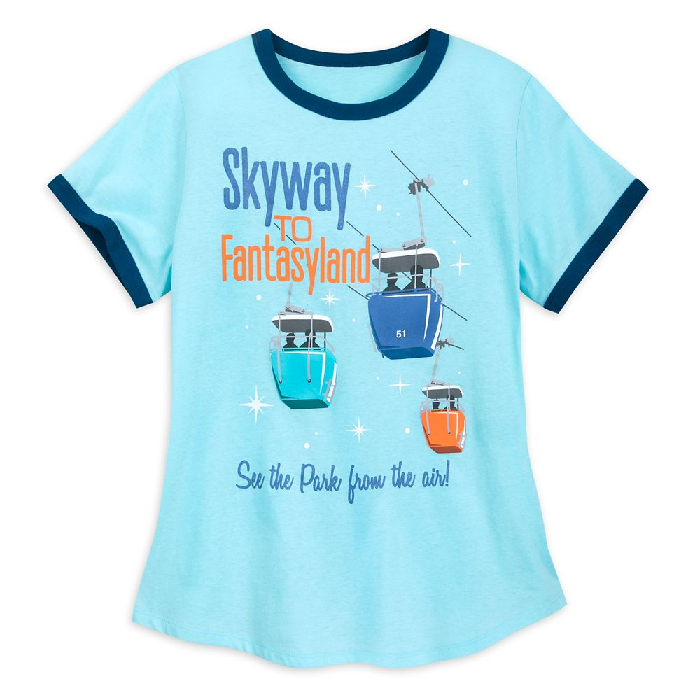 Skyway to Fantasyland Ringer T-Shirt for Women Official shopDisney