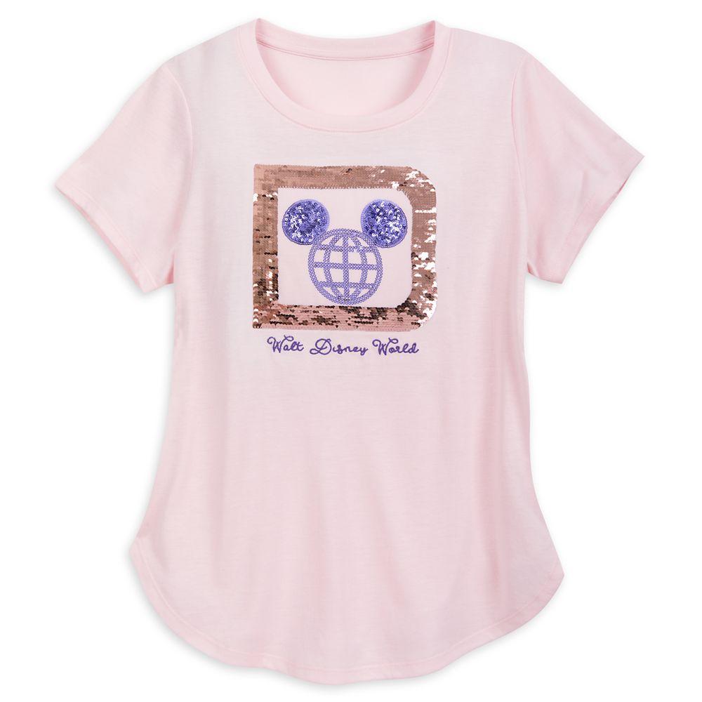 Walt Disney World Reversible Sequin T-Shirt for Women