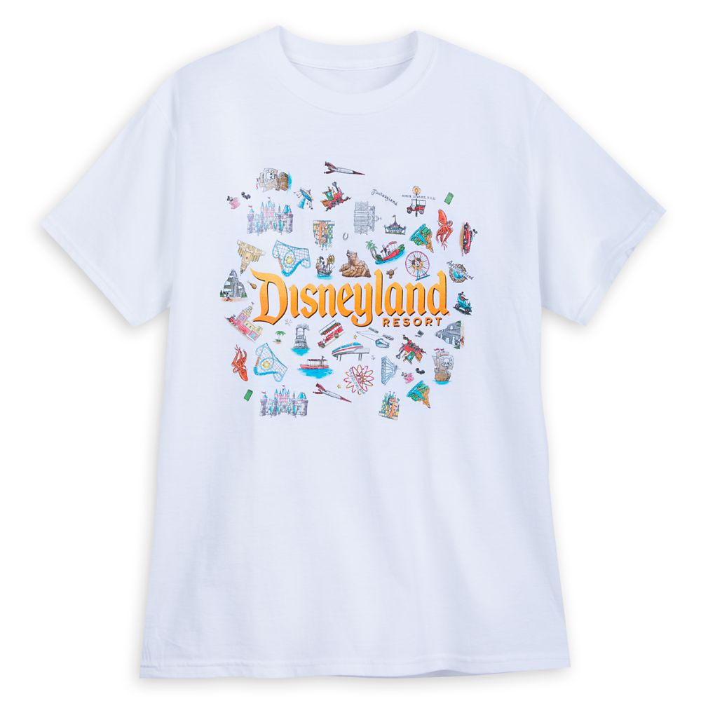 Disneyland ''Concert Tour'' T-Shirt for Men