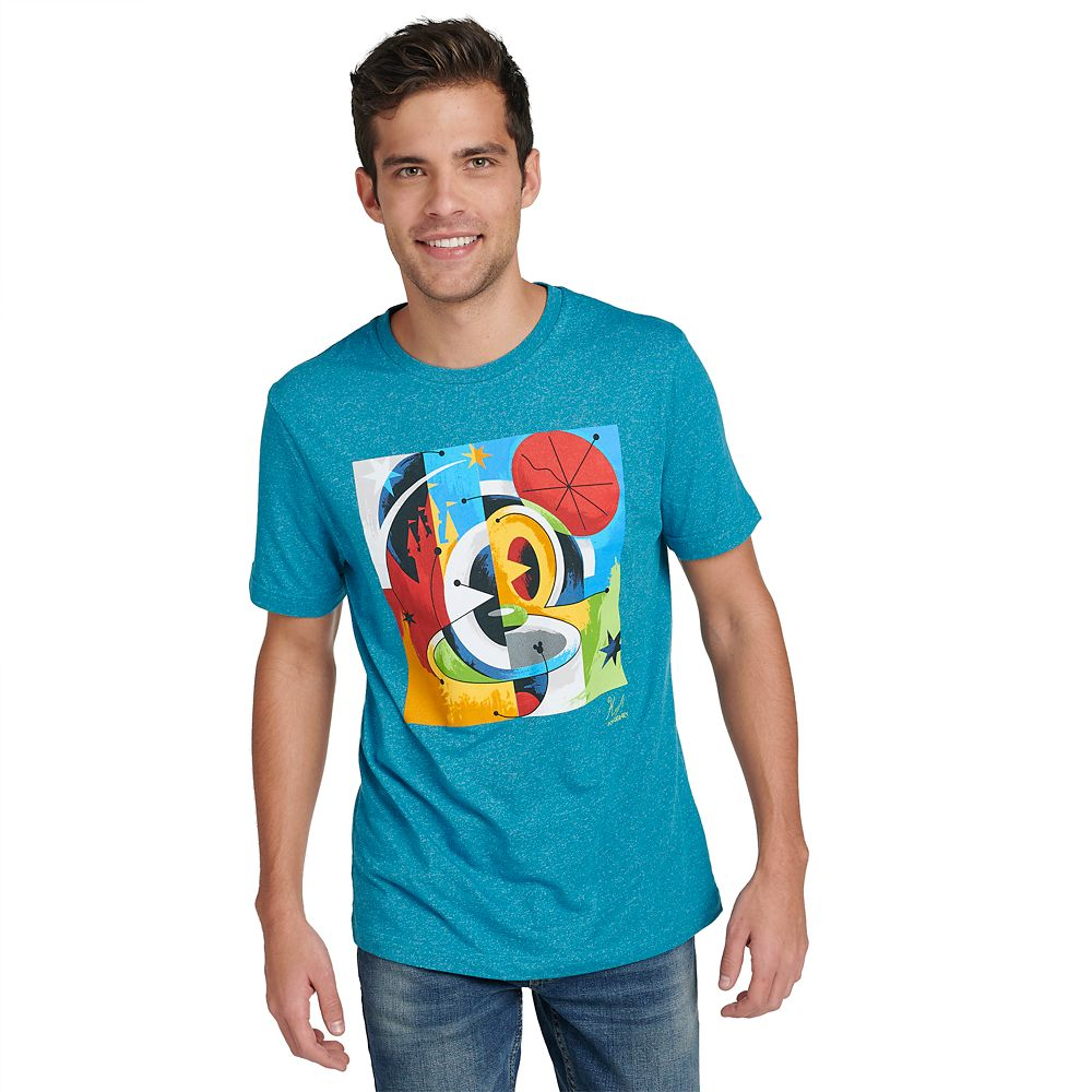 Mickey Mouse Disney Parks Artist Series T-Shirt for Men by Dave Keefer
