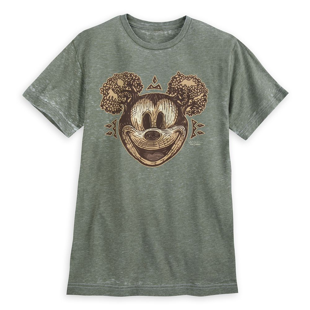 Mickey Mouse Disney Parks Artist Series T-Shirt for Men by Darren Wilson