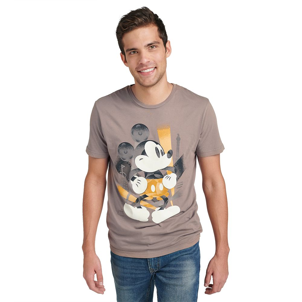 Mickey Mouse Disney Parks Artist Series T-Shirt for Men by Mike Posluszny
