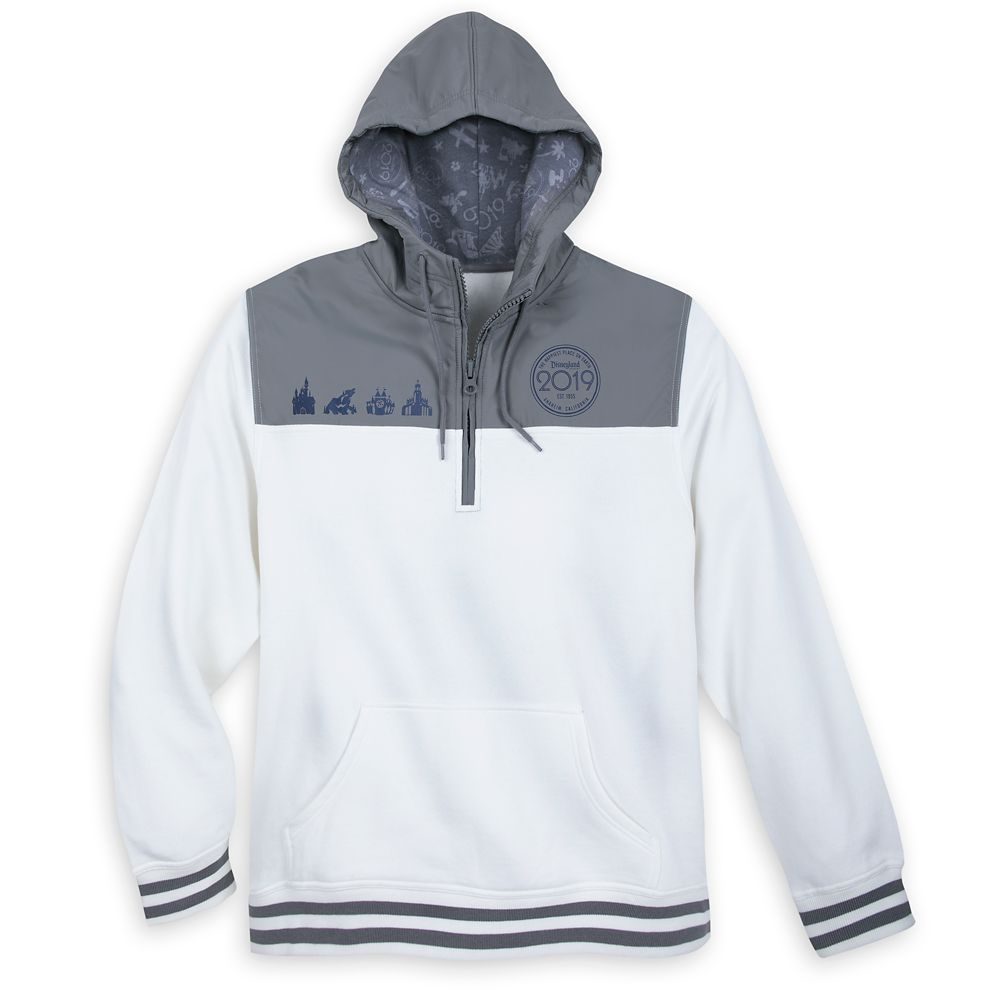 Disneyland 2019 Hooded Pullover for Men