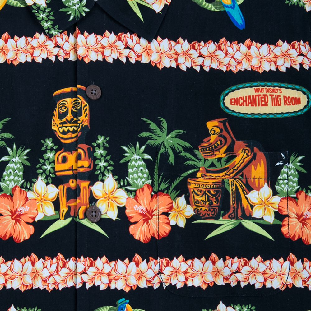 Enchanted Tiki Room Silk Shirt for Men by Tommy Bahama