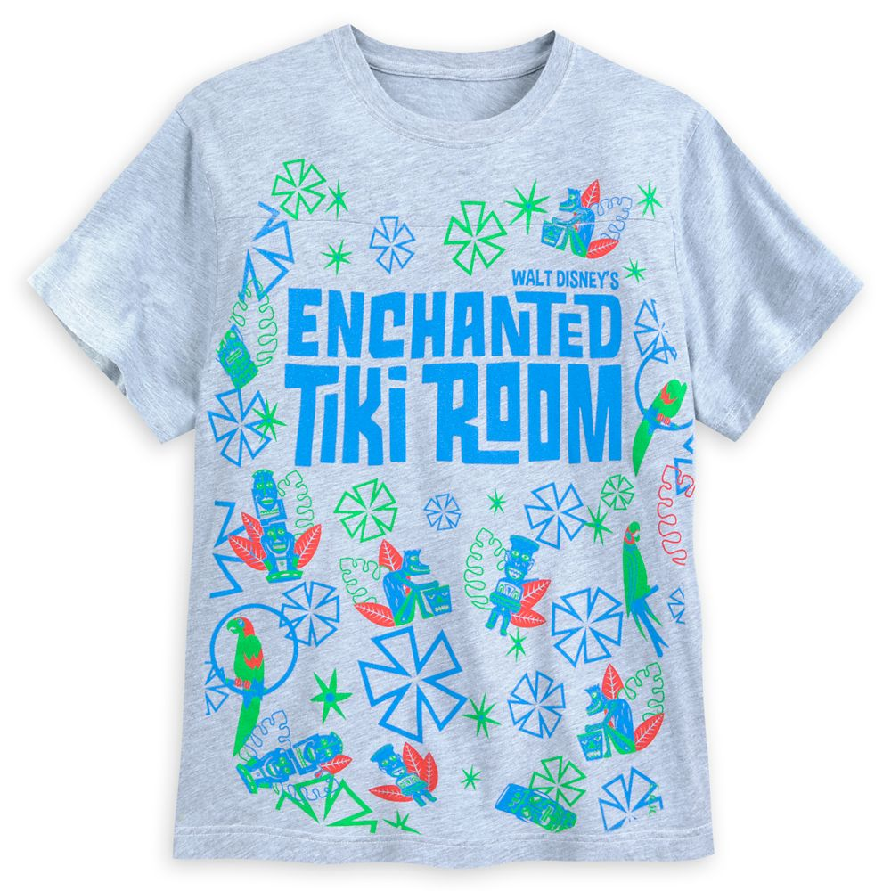 Enchanted Tiki Room T-Shirt for Men Official shopDisney