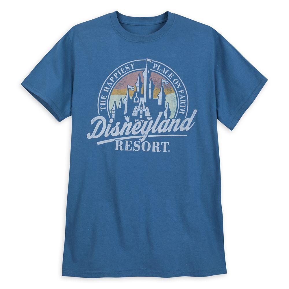 Disneyland Collegiate Logo T-Shirt for Adults