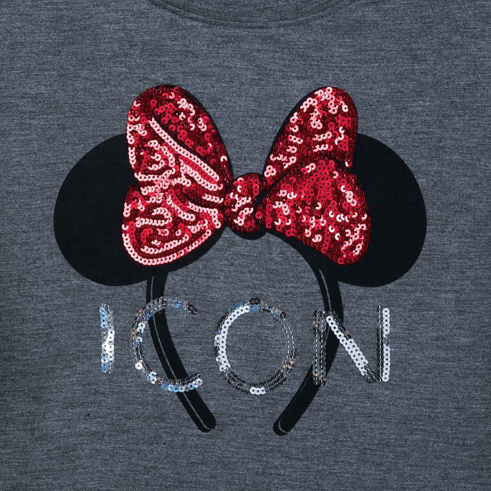 Minnie Mouse Ears Headband T-Shirt for Women