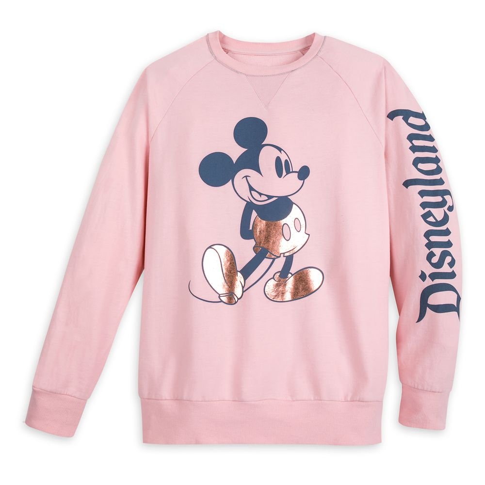 Mickey Mouse Sweatshirt for Adults – Disneyland – Briar Rose Gold