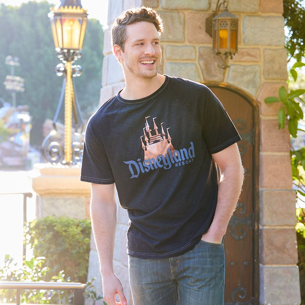 Disneyland Logo T-Shirt for Adults – Briar Rose Gold