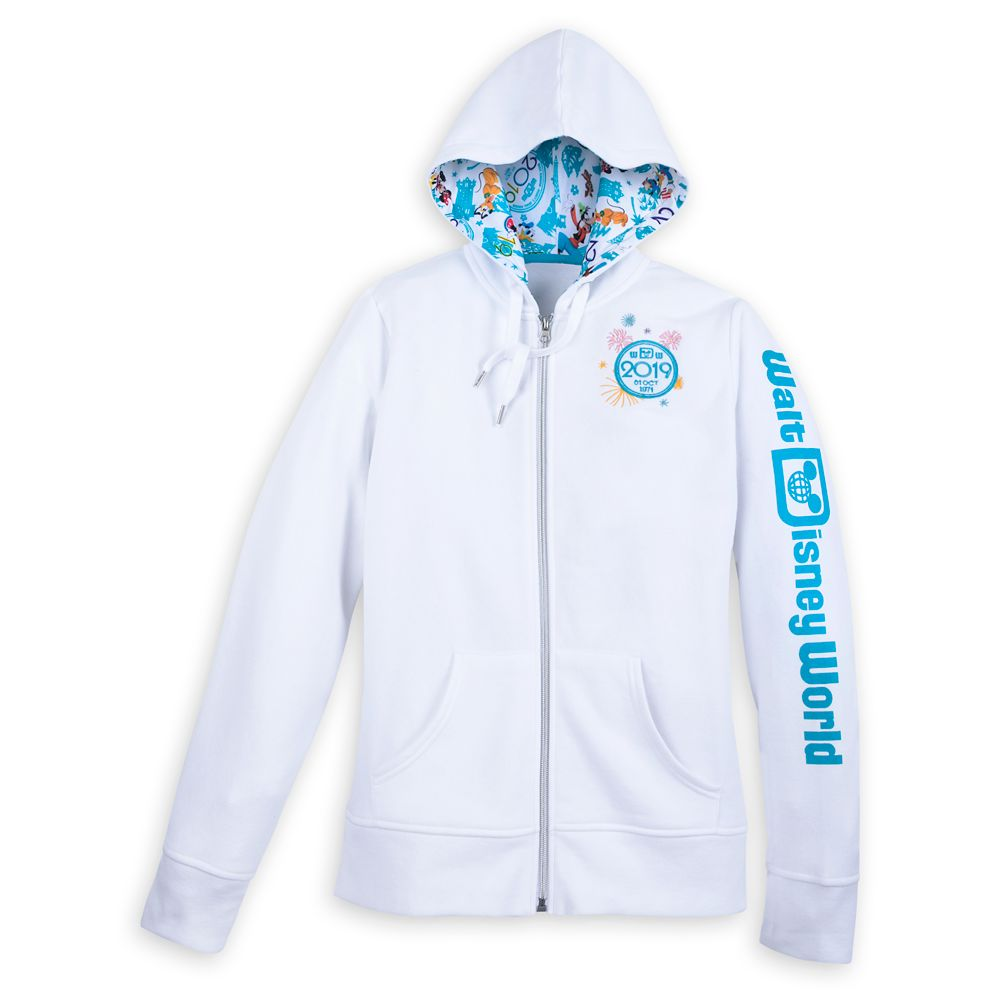 Mickey Mouse and Friends Hoodie for Women – Walt Disney World 2019