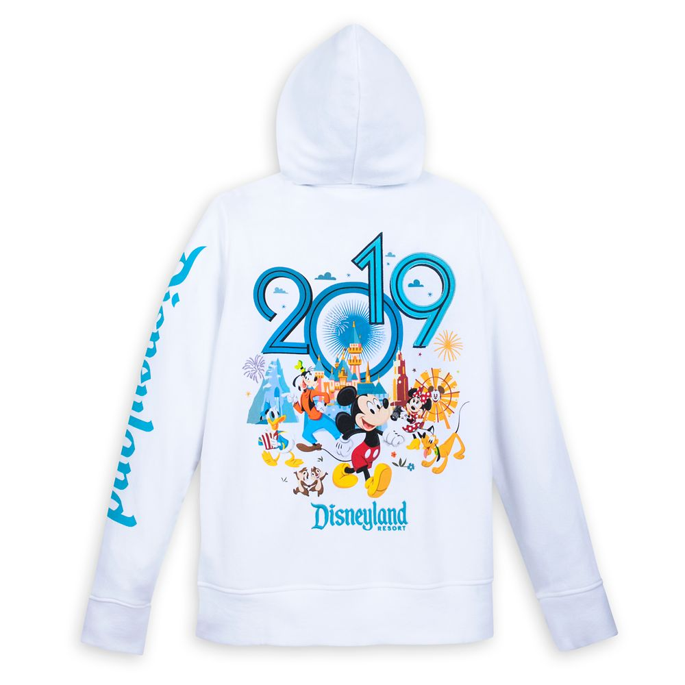 Mickey Mouse and Friends Hoodie for Women – Disneyland 2019