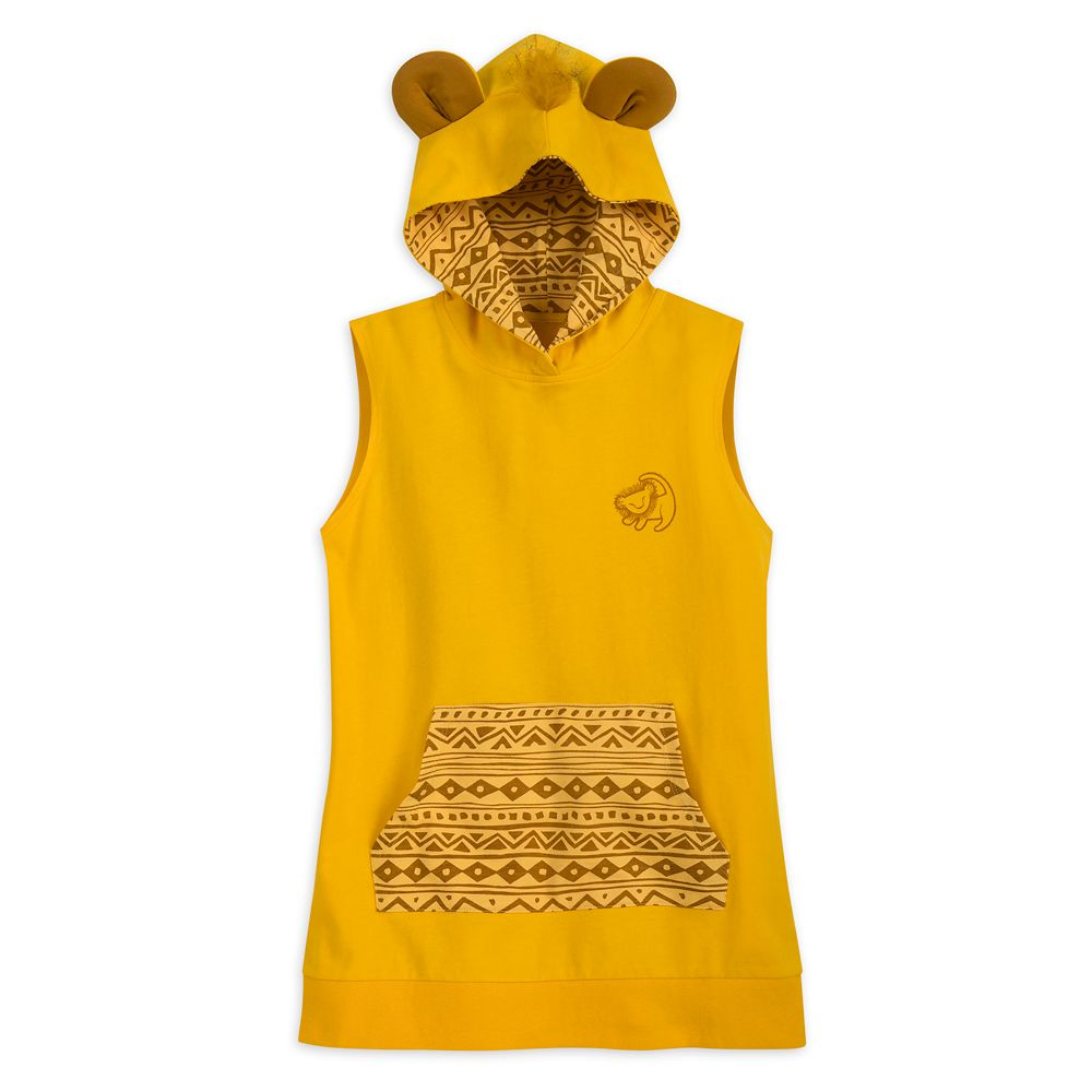 Simba Hooded Sleeveless Tunic for Women Official shopDisney