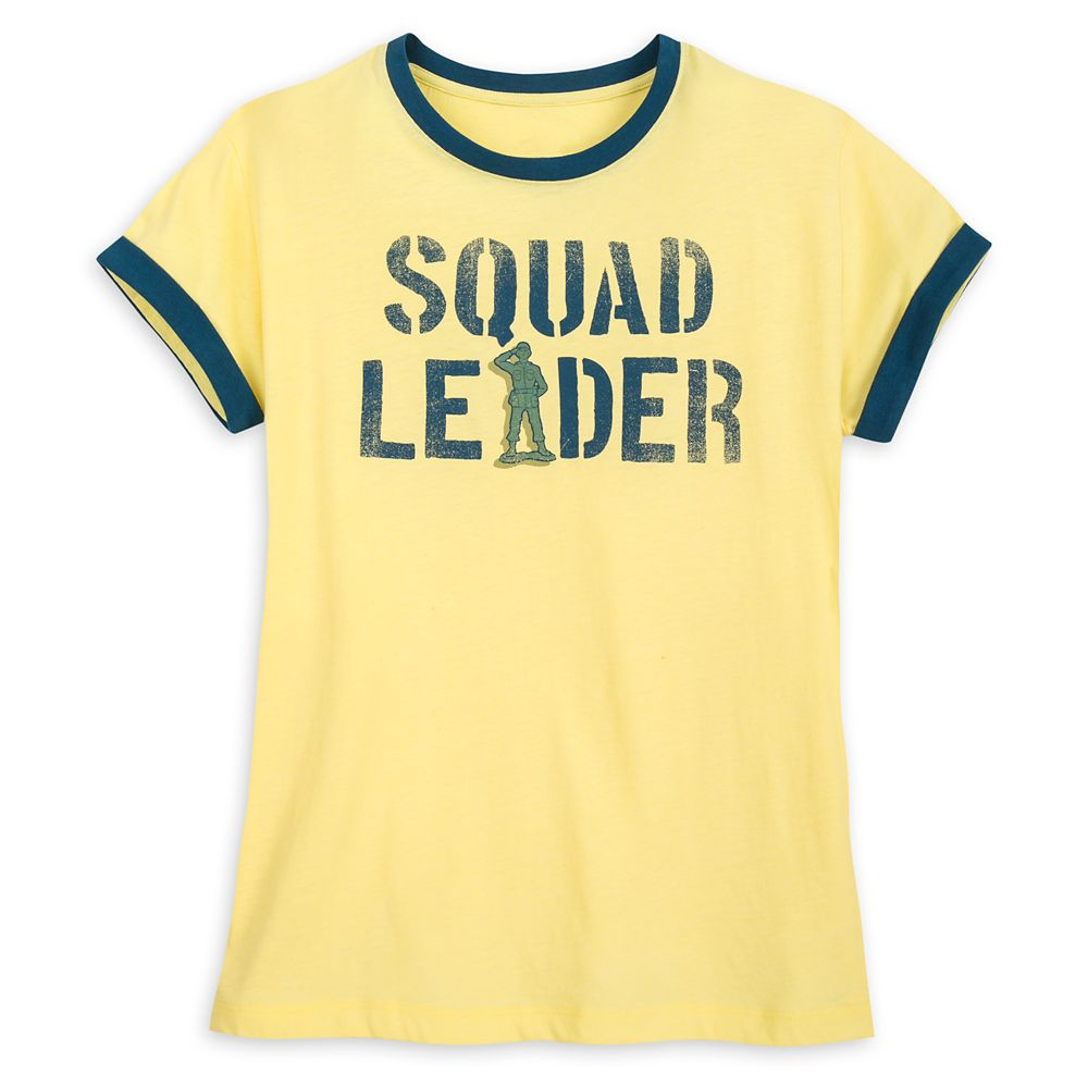 Green Army Men Ringer Tee for Women  Toy Story Official shopDisney