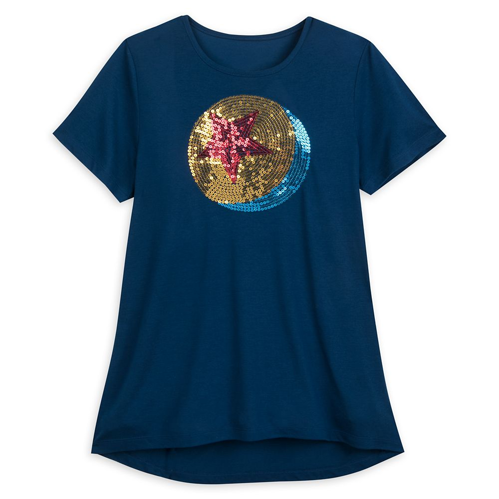 Luxo Ball Sequin T-Shirt for Women  PIXAR Official shopDisney