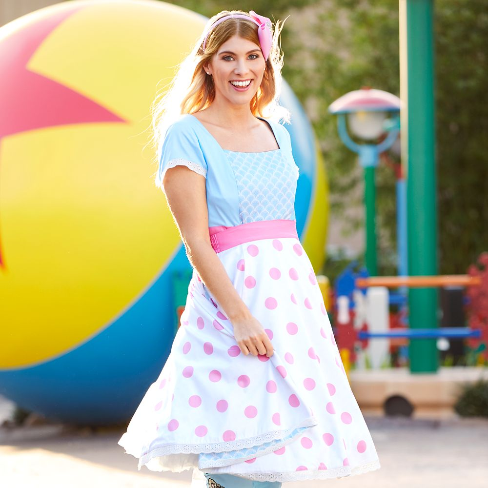 Bo Peep Jumpsuit and Convertible Skirt for Women – Toy Story 4