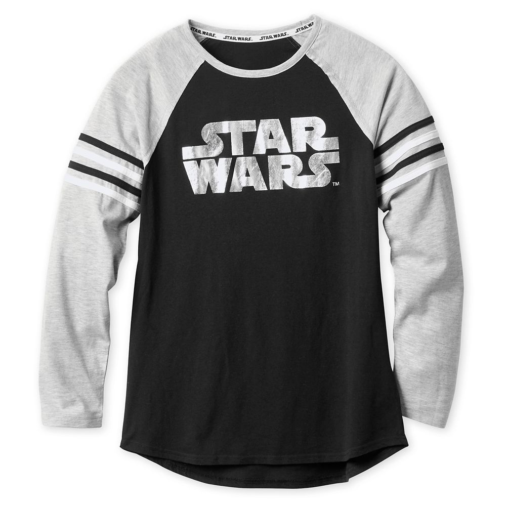 Star Wars Logo Raglan T-Shirt for Women Official shopDisney