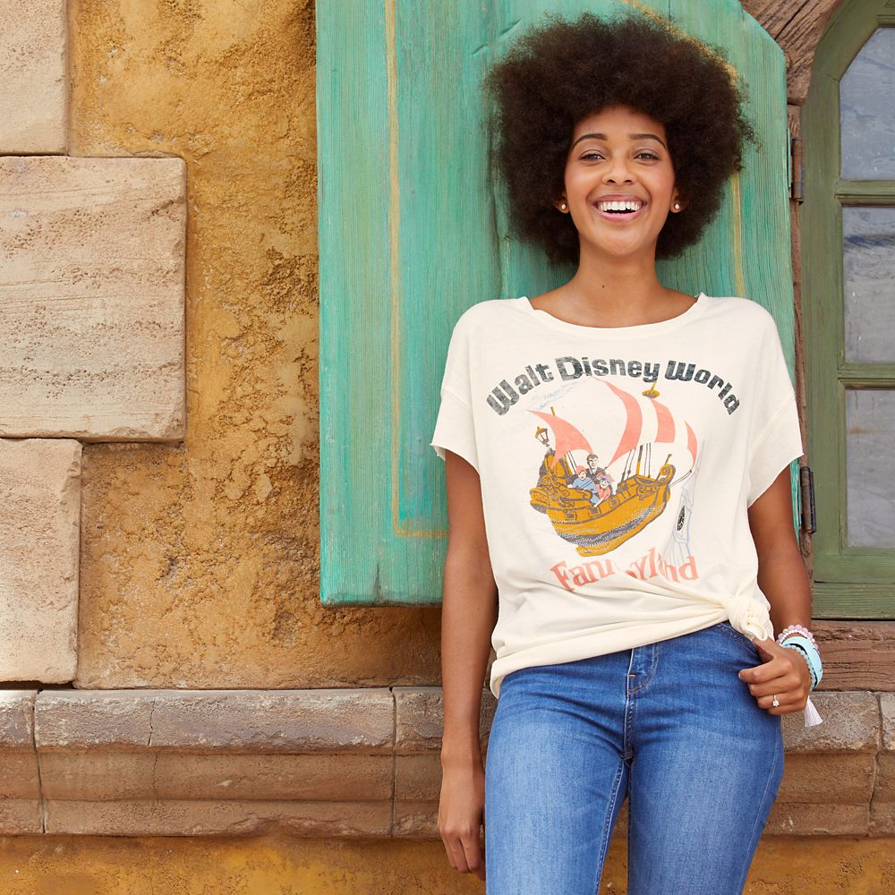 Fantasyland T-Shirt for Women by Junk Food – Walt Disney World