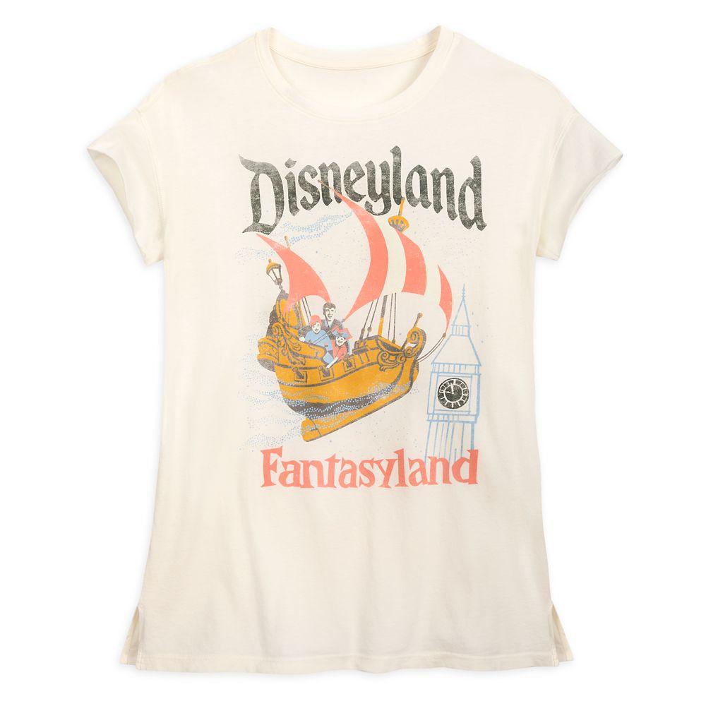 Fantasyland T-Shirt for Women by Junk Food – Disneyland