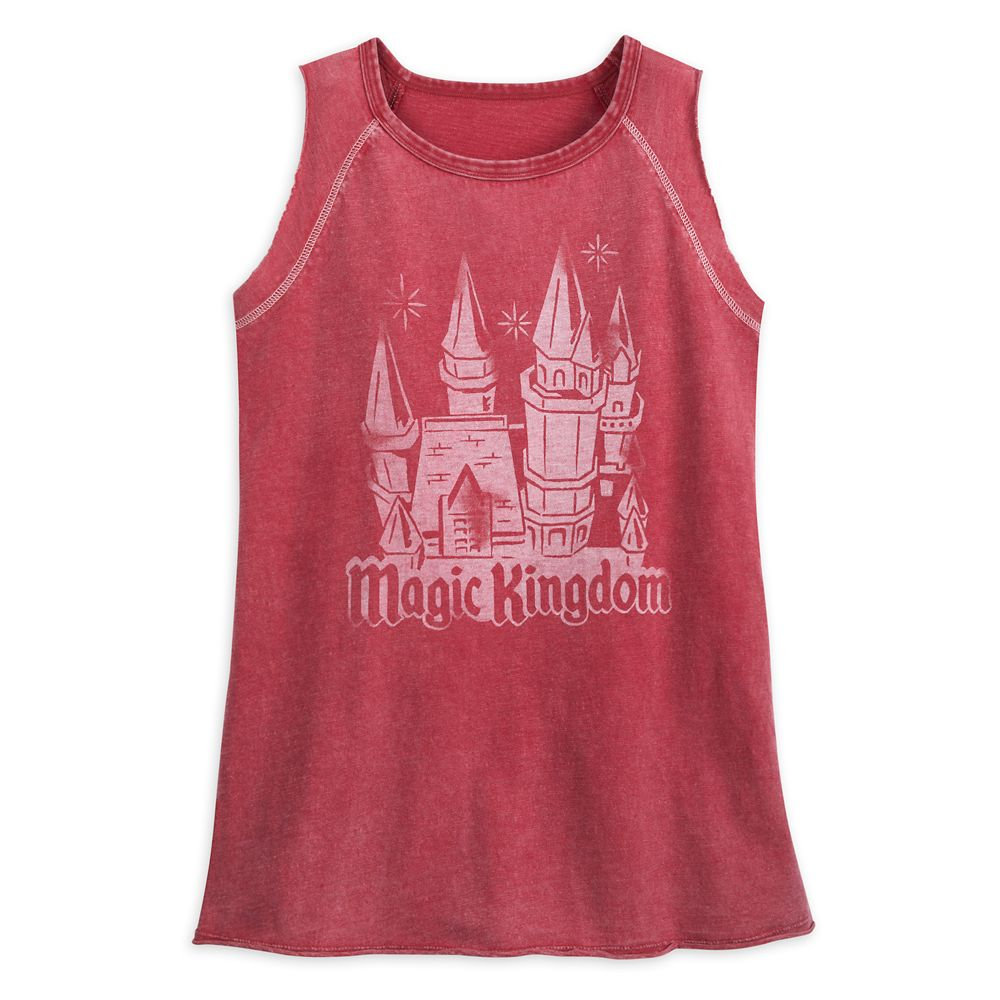 Fantasyland Castle Tank Top for Women by Junk Food – Magic Kingdom