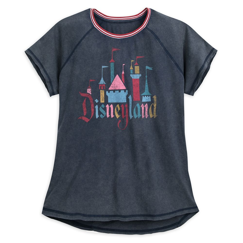 Fantasyland Castle Raglan T-Shirt for Women by Junk Food  Disneyland
