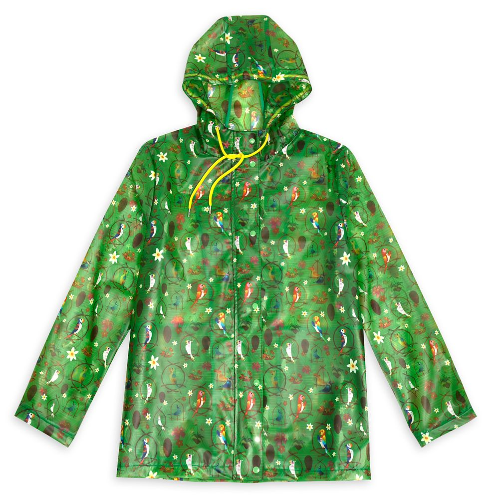 Enchanted Tiki Room Rain Jacket for Women