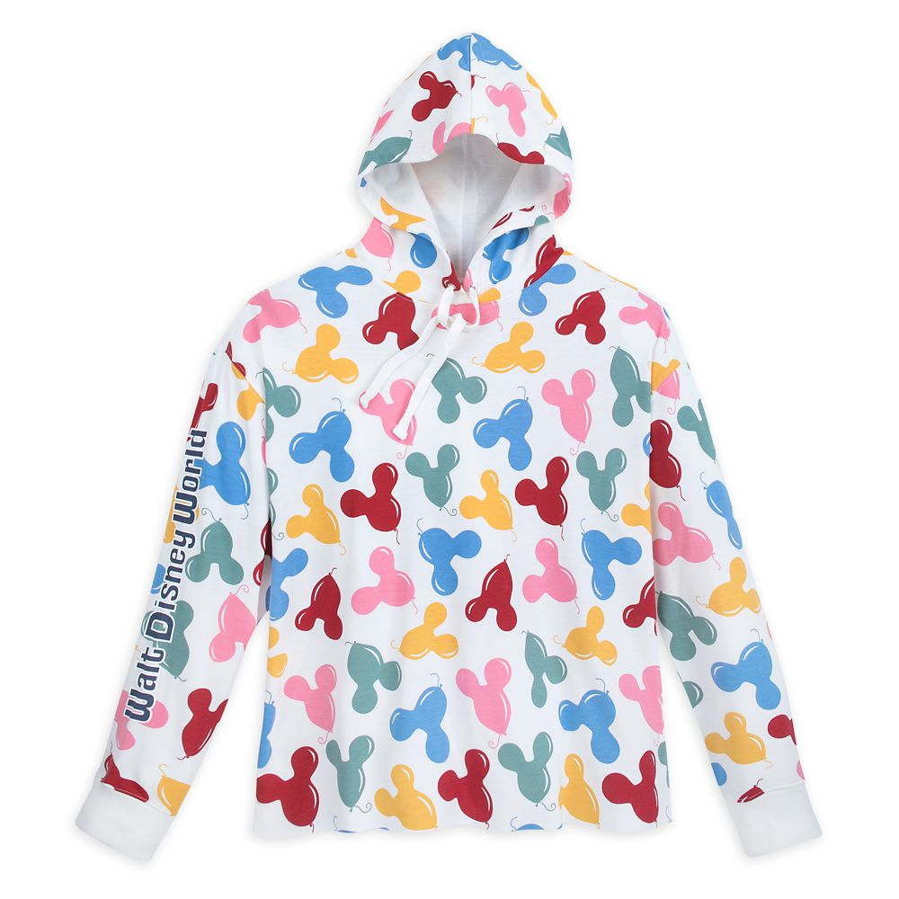 Mickey Mouse Balloon Hoodie for Adults by Junk Food – Walt Disney World