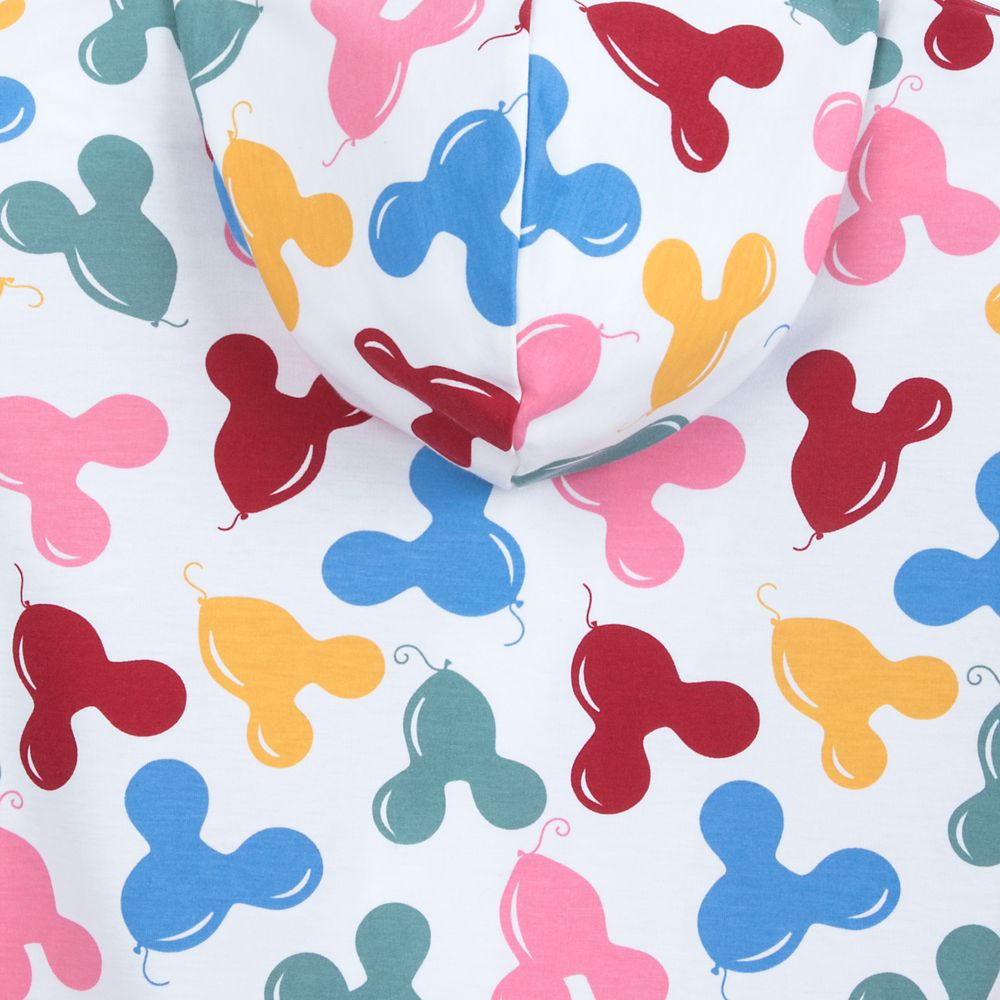 Mickey Mouse Balloon Hoodie for Adults by Junk Food – Disneyland