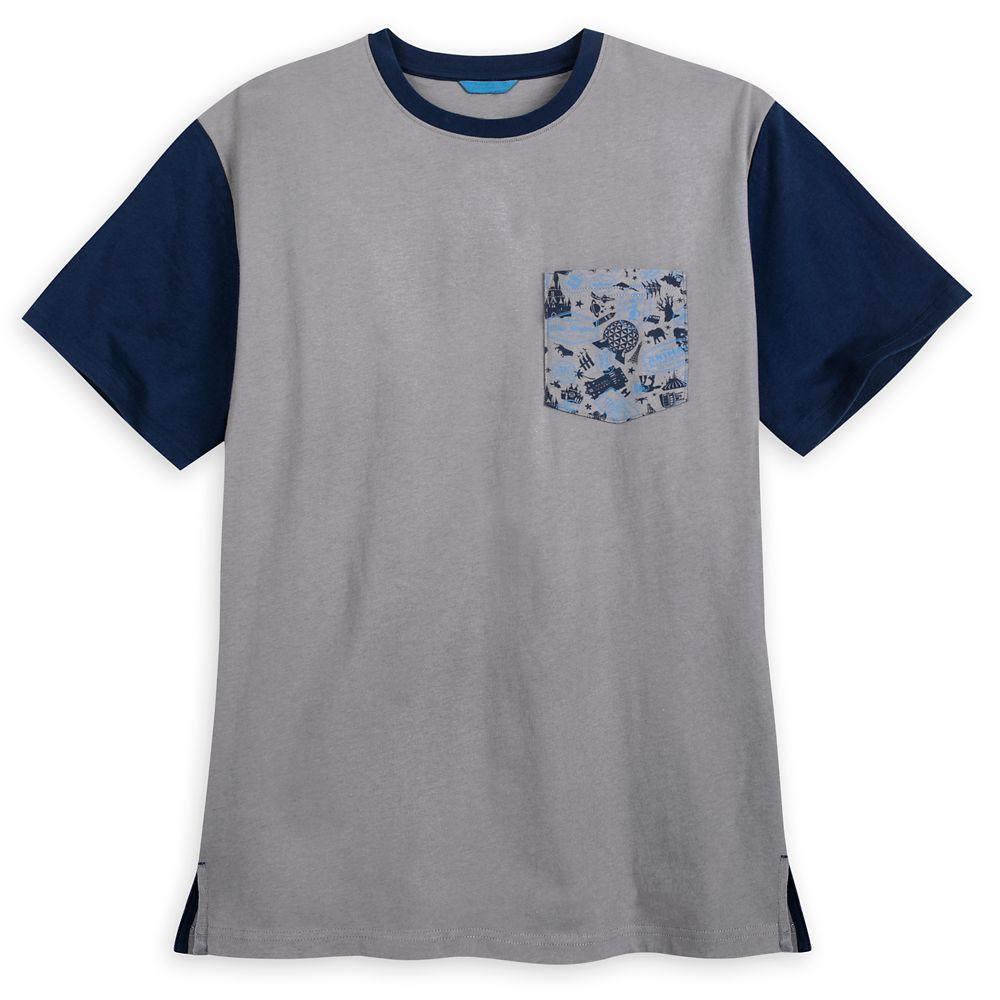 Walt Disney World Pocket T-Shirt for Men