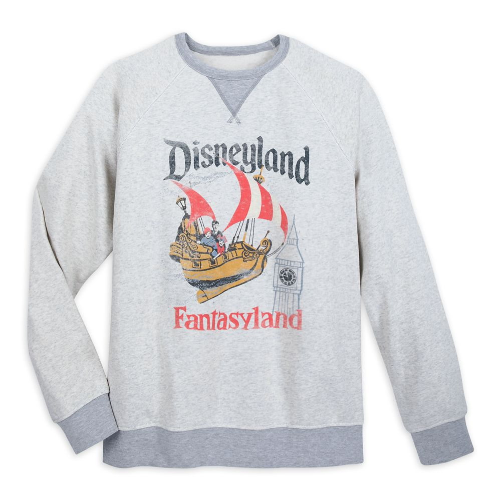 Fantasyland Sweatshirt for Men by Junk Food – Disneyland