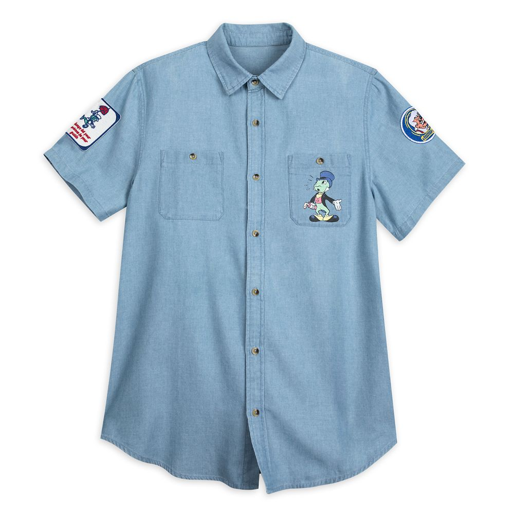 Jiminy Cricket Chambray Shirt for Men by Junk Food