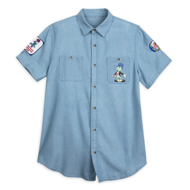 Jiminy Cricket Chambray Shirt for Men by Junk Food