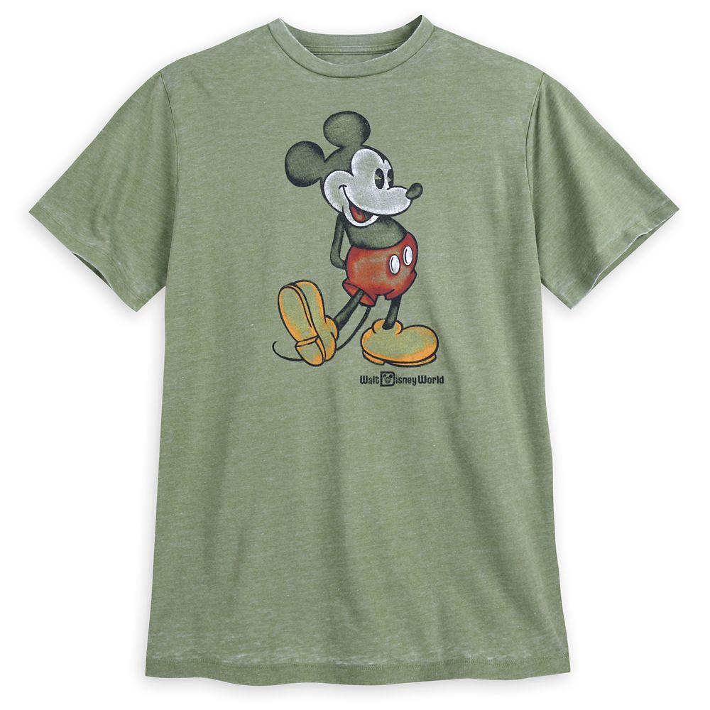 Mickey Mouse Classic T-Shirt for Men – Walt Disney World – Green