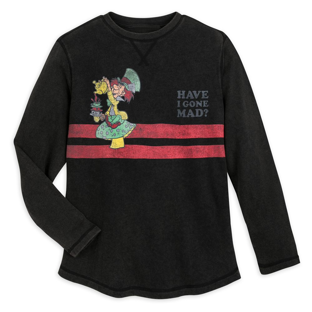 Mad Hatter Long Sleeve T-Shirt for Men by Junk Food – Alice in Wonderland