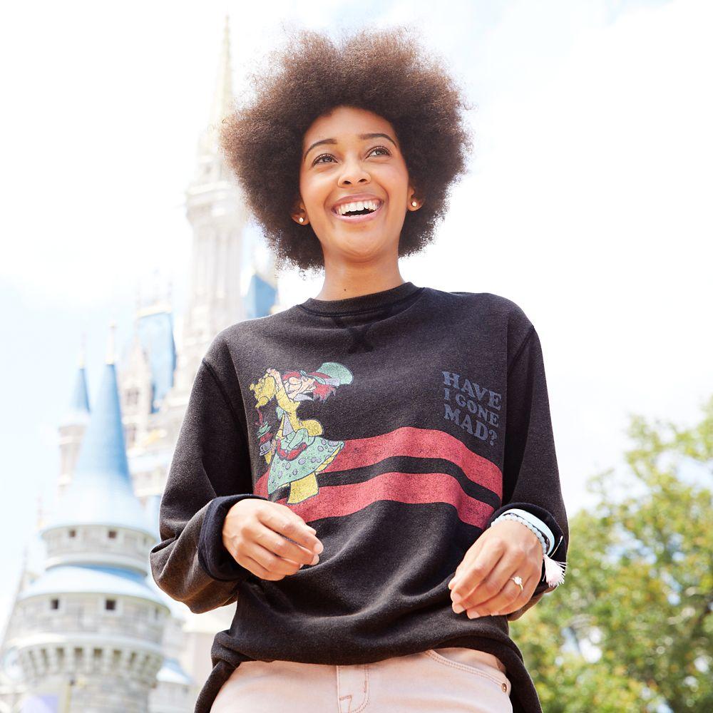 Mad Hatter Long Sleeve T-Shirt for Men by Junk Food – Alice in Wonderland