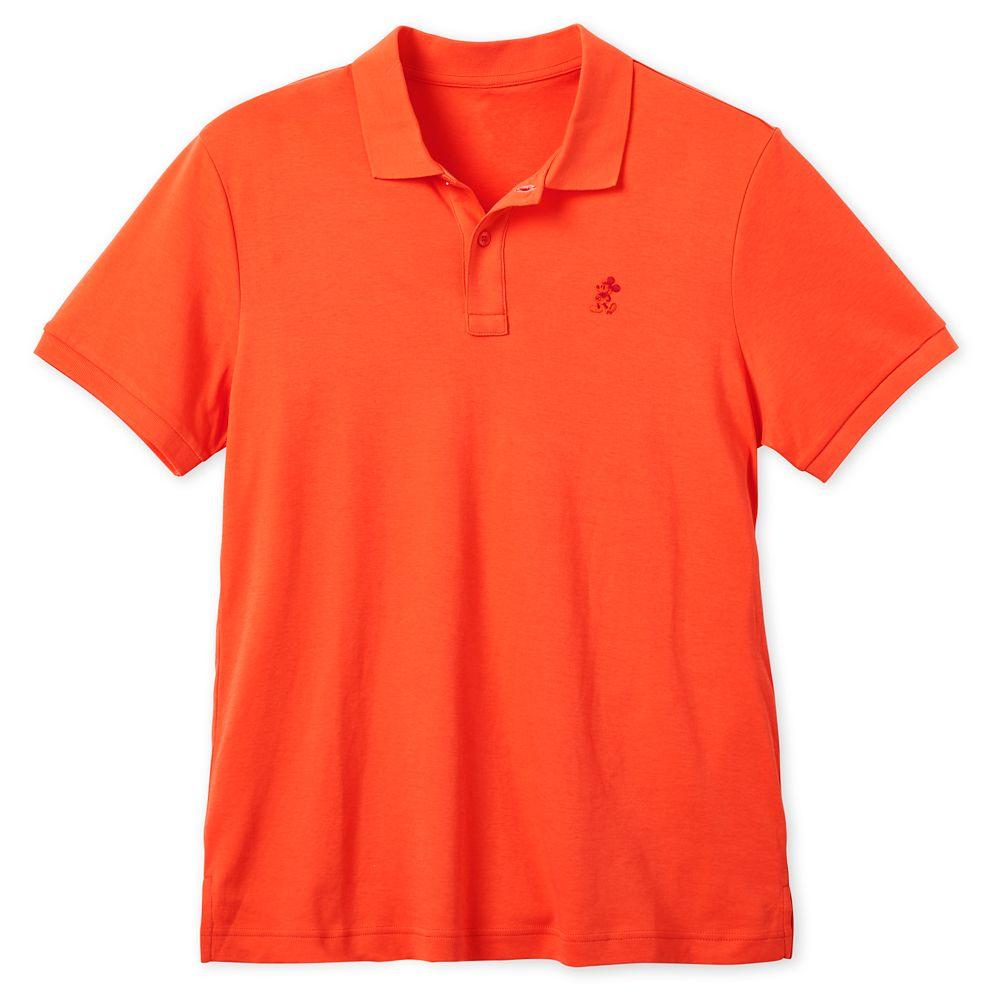 Mickey Mouse Pima Cotton Polo Shirt for Men  Nectarine Official shopDisney