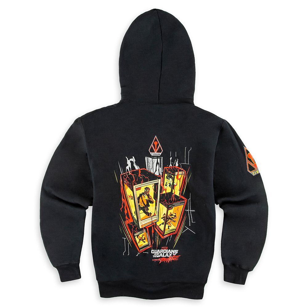 Guardians of the Galaxy Zip Hoodie for Men – Mission: Breakout!