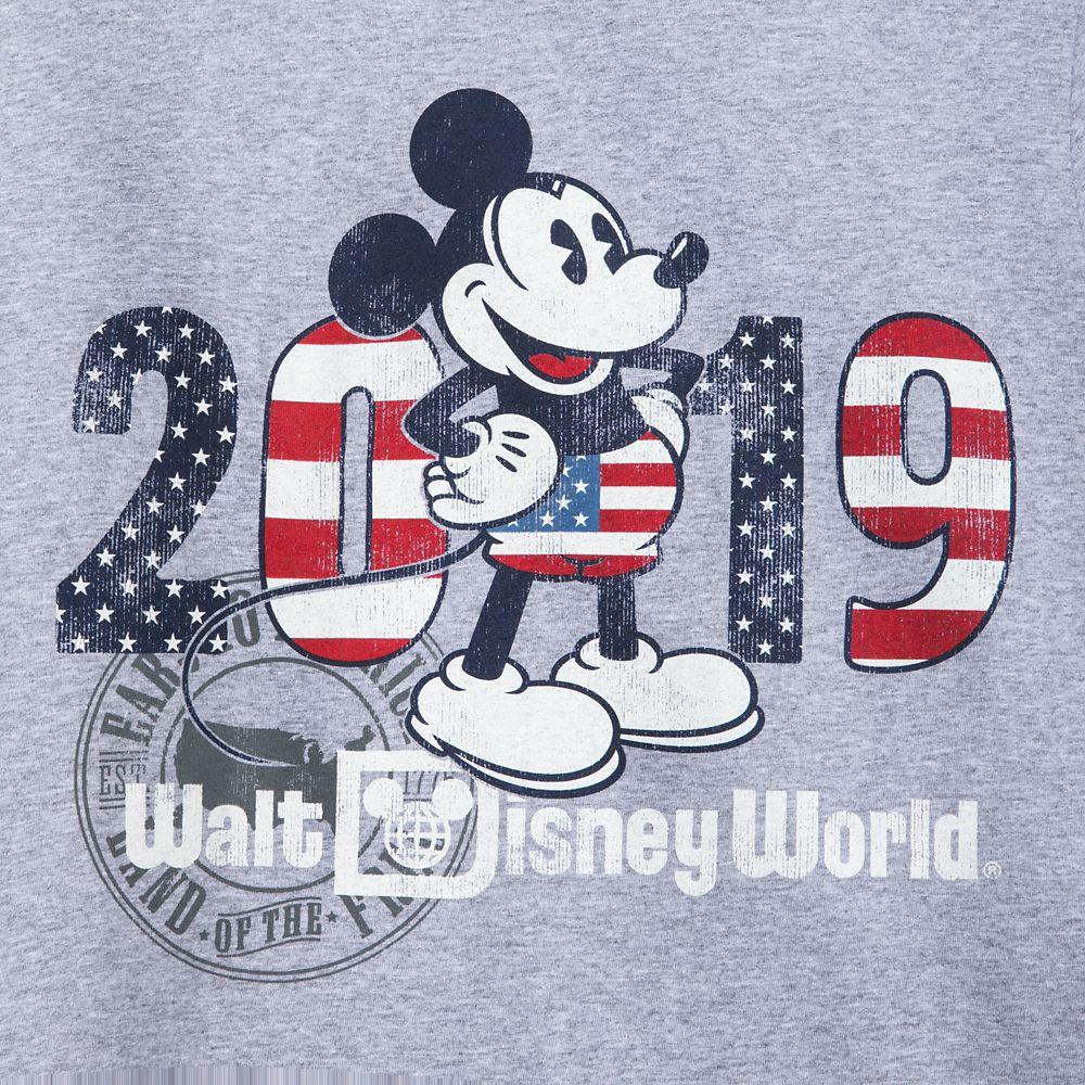 Mickey Mouse Americana T-Shirt for Men – Walt Disney World 2019