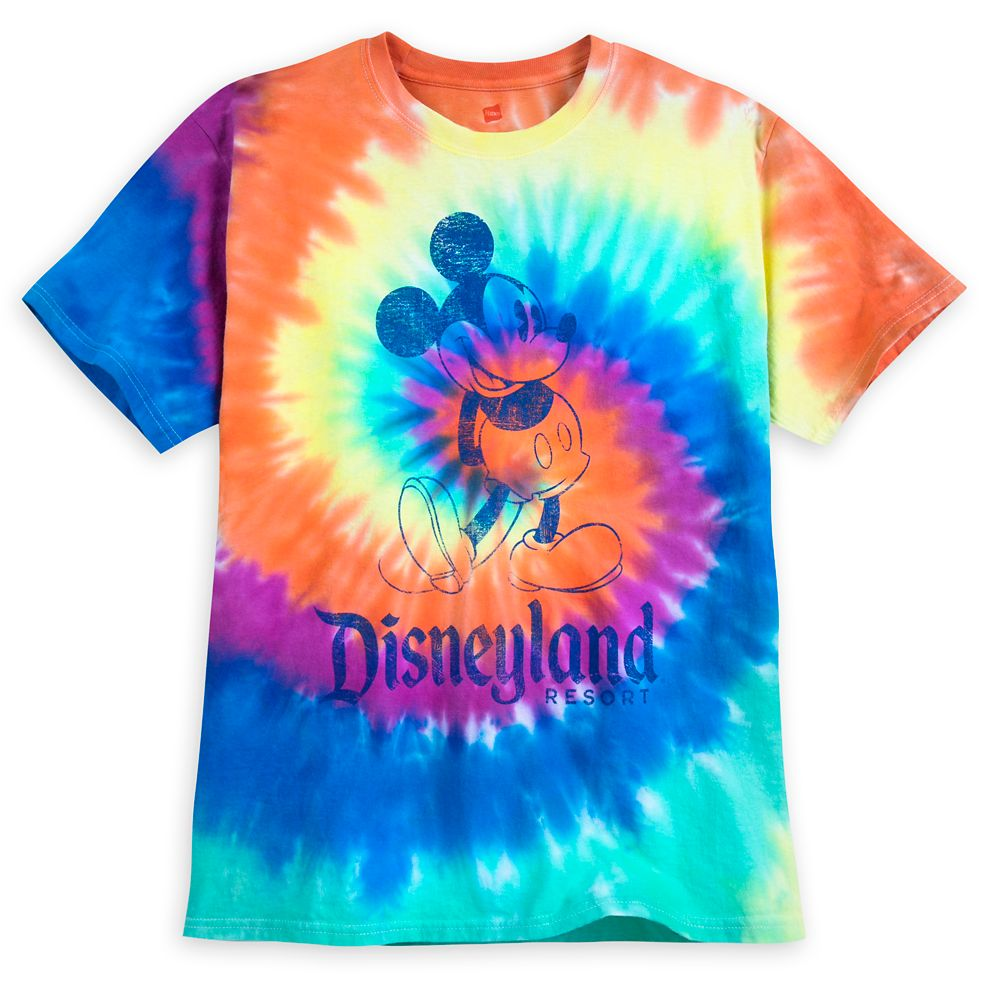 d712ee1f7 Mickey Mouse Tie-Dye T-Shirt for Adults – Disneyland