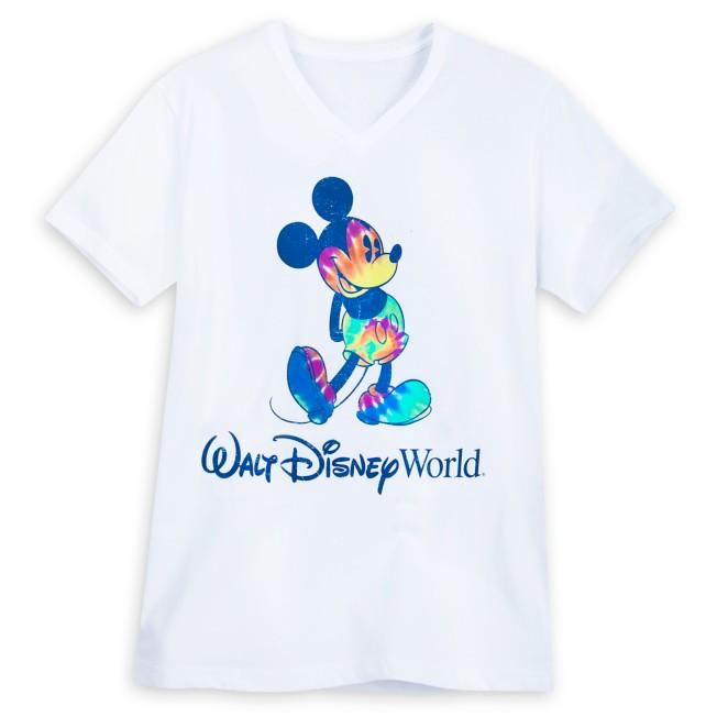 Mickey Mouse Tie-Dye Print T-Shirt for Adults – Walt Disney World