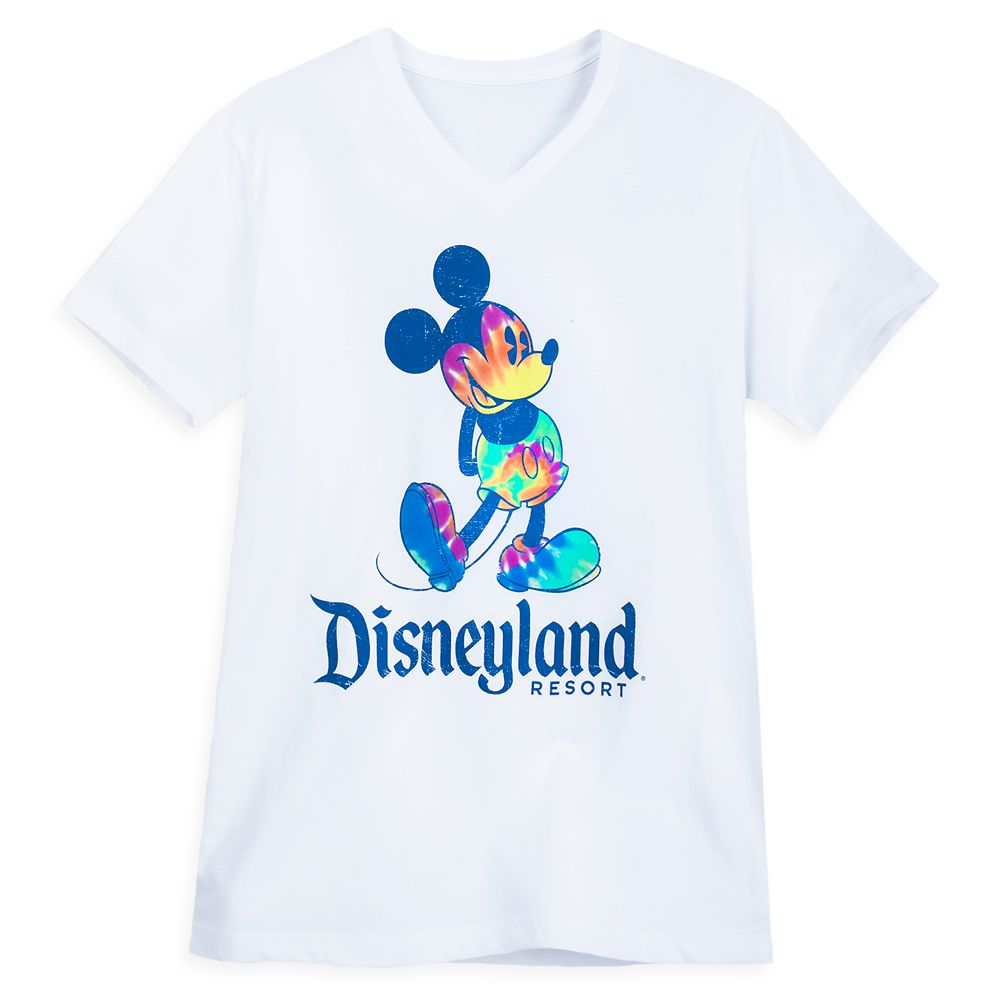 Mickey Mouse Tie-Dye Print T-Shirt for Adults – Disneyland